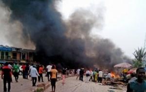 В Нигерии из-за серии терактов погибли 12 человек