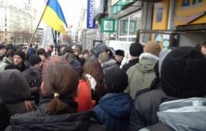 В Харькове произошла драка между патриотами Украины и сторонниками ДНР