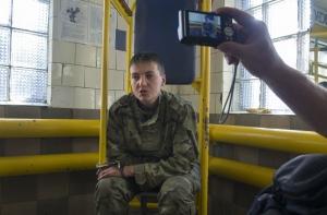 Савченко собираются отправить в Москву для психиатрической экспертизы
