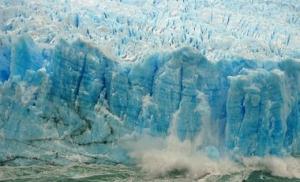 В Гренландии откололся крупный ледник, способный поднять уровень океана