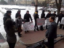 Возмущенные жители Николаева пикетировали мэрию