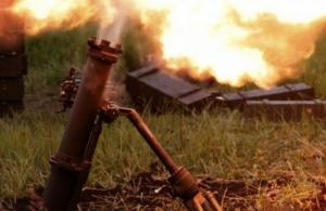 Ситуация в зоне АТО накаляется – боевики обстреливают позиции украинских военных из запрещенных минометов