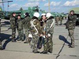 Николаевские штурмовики готовились к ведению боевых действий