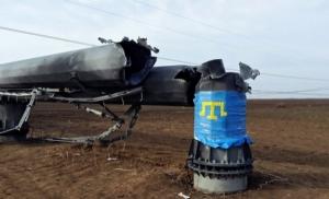 Активисты блокады Крыма рассказали, после выполнения каких требований они разрешат ремонтировать ЛЭП