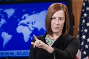 США не снимут санкции с России, пока Крым не вернется в состав Украины - Псаки