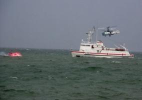В Одессе понарошку задержали пиратов