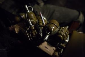 В Херсоне нашли сумку с боеприпасами