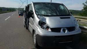 На Николаевщине «Renault Trafic» насмерть сбил пешехода