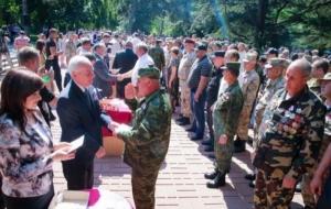 В Севастополе раздали медали за аннексию Крыма