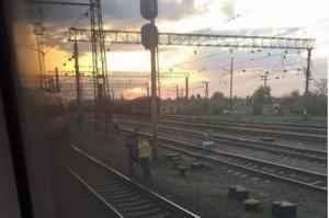 Сошел с рельсов скоростной поезд Харьков-Киев (ФОТО)