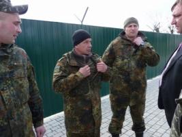 Пограничников из Одесской области снарядили для службы в АТО