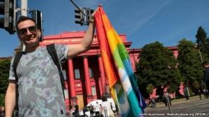 В Киеве прошел ЛГБТ-марш. ФОТО
