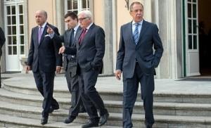 Главы МИД ''нормандской четверки'' обсудят ситуацию на Донбассе и войну в Сирии