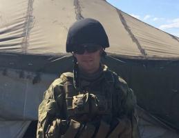 Боец 79-й бригады после ранения вернулся на передовую, к боевым товарищам