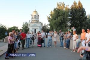 В Николаеве состоялся митинг против изменений в Конституции Украины