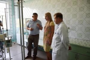Николаевская областная детская больница получила гуманитарную помощь