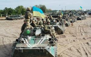 В селе Петровское на Донетчине начали разведение войск
