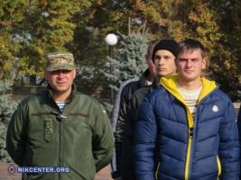 В Николаеве торжественно провели на срочную службу в армию 40 призывников