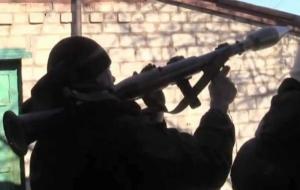 Журналисты британского телеканала стали свидетелями столкновения между сепаратистами и украинскими военными в Дебальцево