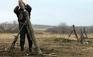 Боевики обстреляли Опытное и Пески из запрещенного оружия
