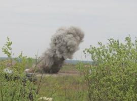 В результате взрыва гранатомета на Ровенском полигоне пострадали семеро военных