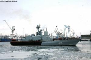 На ЧСЗ завершен ремонт корвета «Приднепровье»