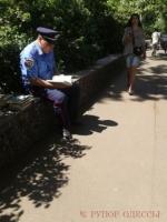 Милиционеры оцепили Куликово поле в Одессе, но не знают зачем