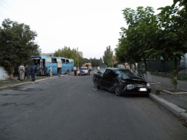 На Николаевщине в ДТП попал пассажирский автобус. Есть жертвы