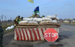 На блокпосту в зоне АТО украинский военный застрелил мужчину, который пытался завладеть его автоматом