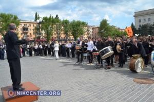 В Херсоне установили рекорд по самому массовому исполнению Гимна Украины