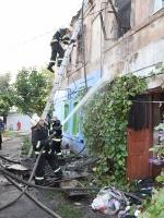 В Николаеве во время пожара в жилом доме погиб 14-летний парень