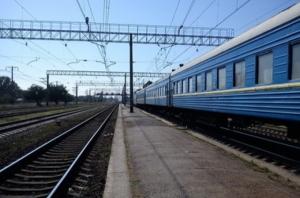 На Николаевщине загорелся пассажирский поезд