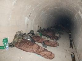 Бойцы АТО в зоне боевых действий
