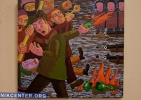 В Николаеве открылась благотворительная выставка посвящённая революциям 2004-2014 годов