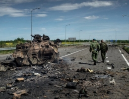 За минувшие сутки боевики более 40 раз обстреляли позиции сил АТО