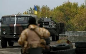 Опять обстреляли «Счастье» - опять сепаратисты нарушают перемирие