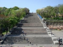 В Одессе планируют капитальную реставрацию Потемкинской лестницы