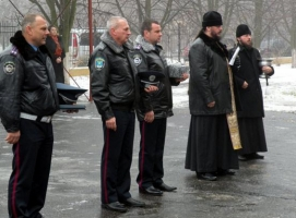 Работники николаевской ГАИ отправились следить за порядком на Донбасс