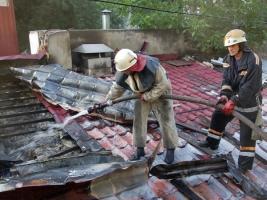 В Николаеве горят рестораны