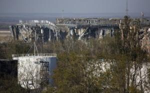 В донецком аэропорту погиб один украинский военный и еще 11 бойцов ранены