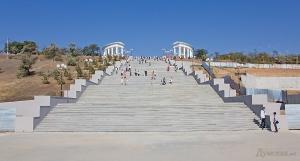 В Ильичевске появилась близняшка Потемкинскинской лестницы