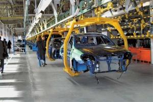Украинская автопромышленность нарастила производство на 30% по сравнению с прошлым месяцем