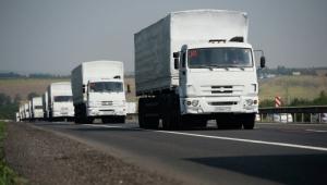 Россия отправила на Донбасс очередной «гуманитарный конвой»