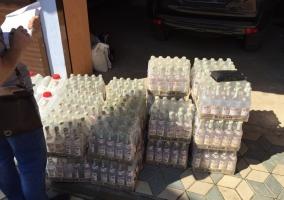 В Одесской области обнаружили склад с контрабандными сигаретами и алкоголем