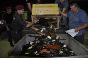 Сотрудники Николаевской полиции переплавили в печи 330 единиц изъятого оружия (ВИДЕО)