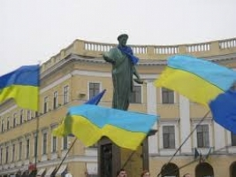 Одесский Евромайдан гонят от Дюка
