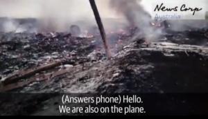 Опубликовано видео о действиях боевиков в первые минуты после падения пассажирского Боинга МН17