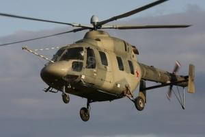 Российские вертолёты незаконно залетели в Херсонскую область