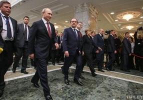 Прекращение огня начнется 15 февраля - Путин