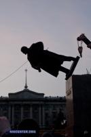 Через год после сноса памятника Ленину большинство опрошенных николаевцев сожалеют об этом